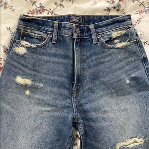 High Rise Abercrombie Jeans